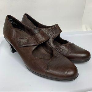 Mary Jane Heeled Shoes